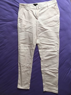 H&M Pantalon taille basse rose clair