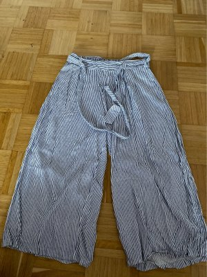 Primark Pantalón estilo Harem blanco-azul