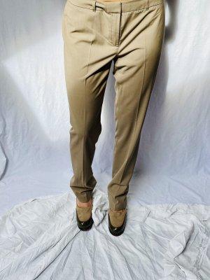 Stoff Hose Esprit  klassisch S dunkel beige