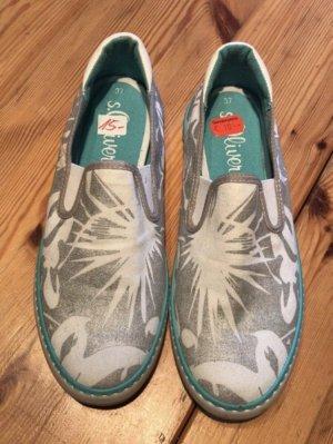Stoff Schuhe