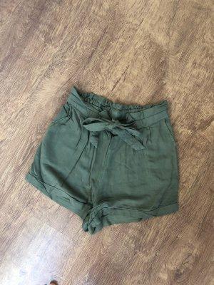 Stoff Shorts Größe S Khaki Cargo
