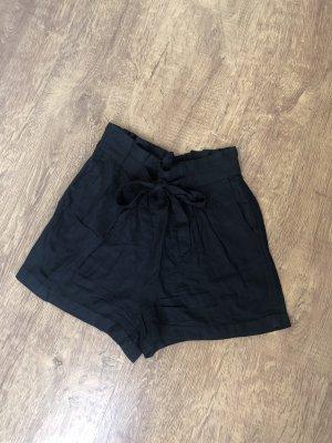 Pantaloncino a vita alta nero