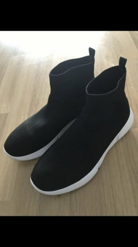 Stoff Sneaker schwarz 41