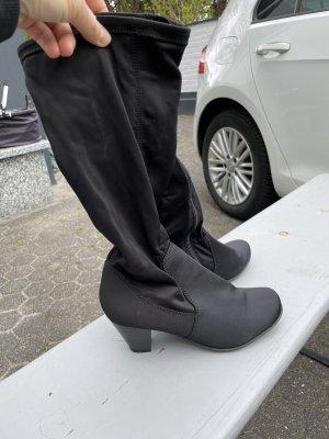 C&A Stretch Boots black
