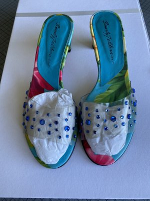 Beverly Feldman Sandale d'extérieur multicolore