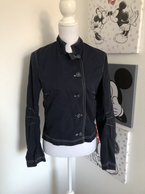 H&M Naval Jacket dark blue-cream