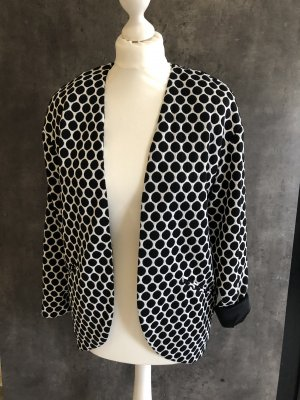 H&M Jersey Blazer negro-blanco