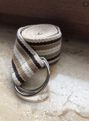 Fabric Belt multicolored cotton