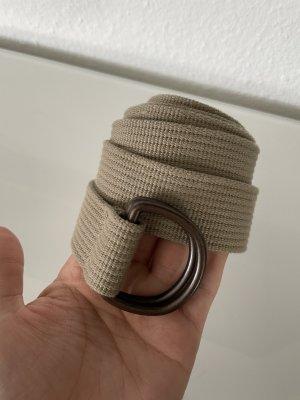 Fabric Belt light brown-beige