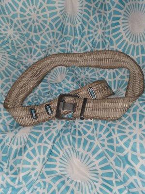 Edc Esprit Cinturón de tela marrón claro-marrón