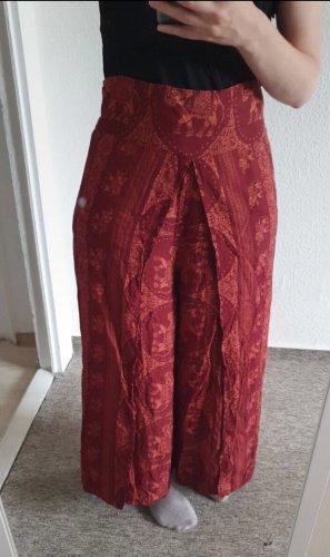 NoName Pantalón estilo Harem rojo