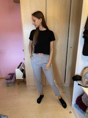 Pull & Bear Jersey Pants light grey-white