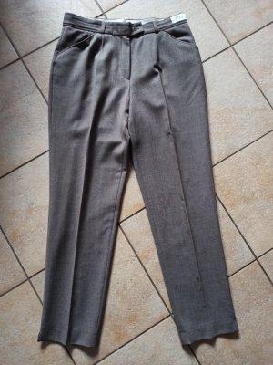 Brax Spodnie materiałowe szaro-brązowy