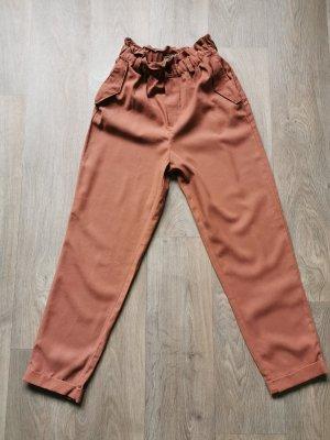 Pull & Bear Jersey Pants russet