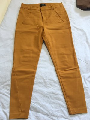 Only Drainpipe Trousers gold orange