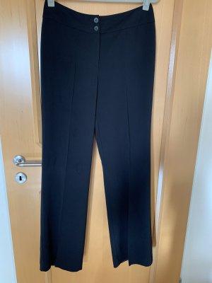 Bianca Pantalon de costume noir