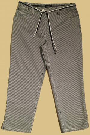 Stoffhose, 7/8 Länge, low waist, Gr. M
