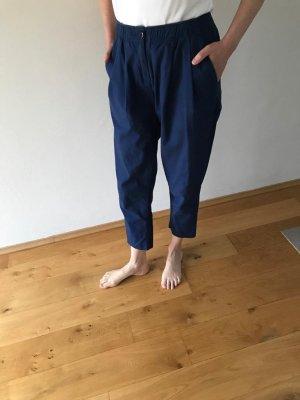 5 Preview Spodnie materiałowe ciemnoniebieski