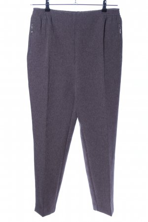 Stoffhose hellgrau meliert Business-Look