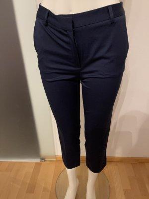 Mango Pantalon 7/8 bleu foncé