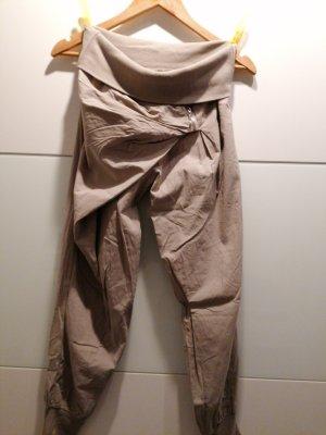 Pantalon boyfriend gris clair