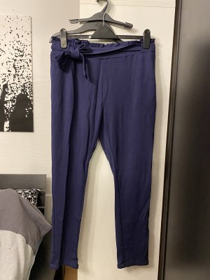 9th Avenue Pantalon en jersey bleu foncé