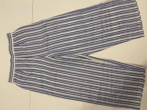 Miss Selfridge Pantalon en jersey blanc-bleu azur
