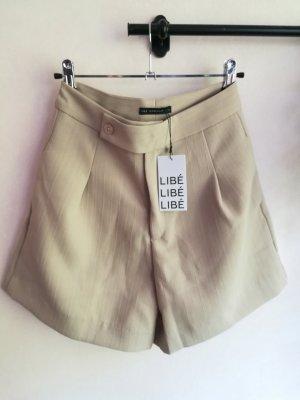 Stoffhose, Boho, Shorts, high-waist