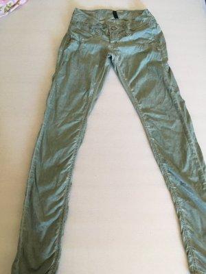 Gang Pantalone a vita bassa verde-grigio