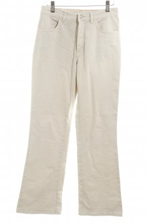 Stoffhose creme Casual-Look