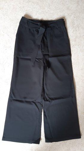 keine Marke Falda pantalón de pernera ancha negro