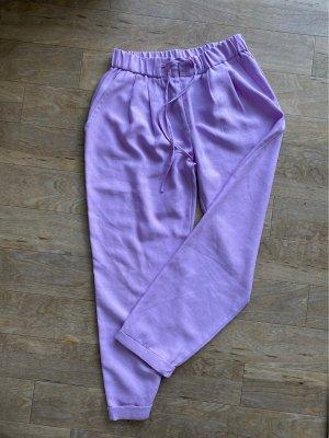 Batik Stoffen broek paars