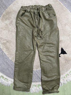 0039 Italy Pantalon kaki gris vert