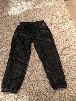 Forever 21 Baggy Pants black polyester