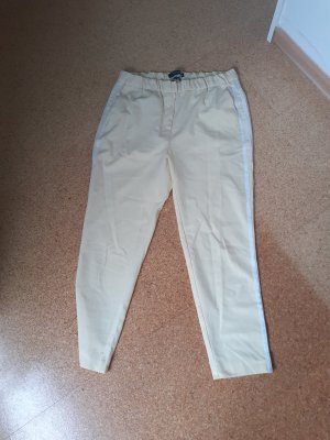 Reserved Jersey Pants white-pale yellow