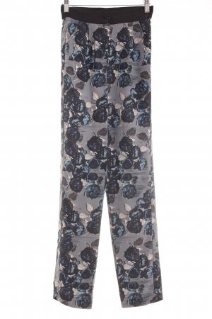 Stoffhose florales Muster Casual-Look