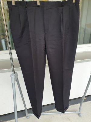 Canda Spodnie materiałowe czarny Tkanina z mieszanych włókien