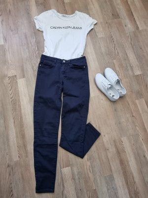 Stoffhose Jeans blau Orsay Größe 34