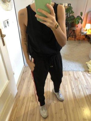Stoffhose, Joggingpants mit Seitenstreifen