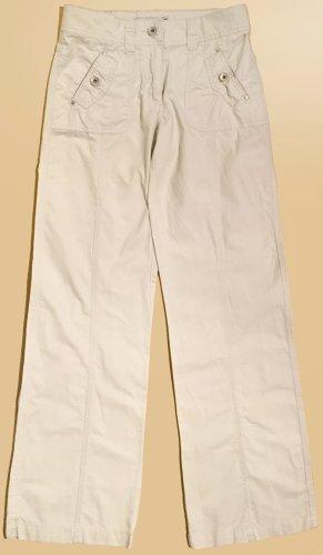 Stoffhose, lang, low waist, Gr. 36