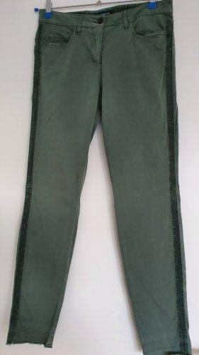 Luisa Cerano Jersey Pants sage green-khaki