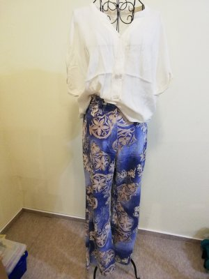 Gina Laura Jersey Pants gold-colored-azure
