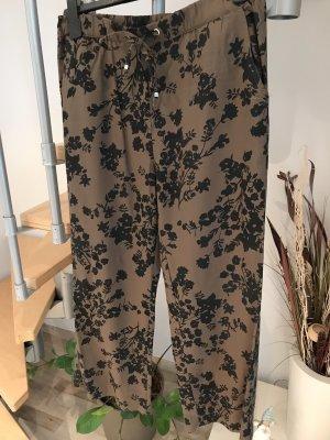 Yessica Jersey Pants ocher-black