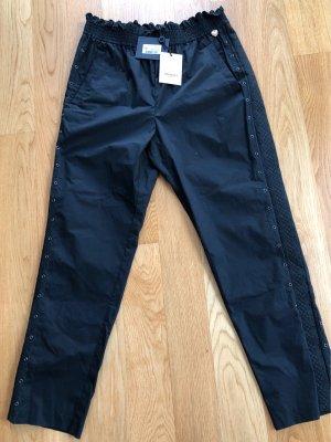 Twin set High Waist Trousers black