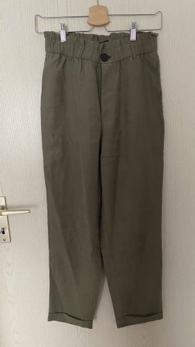 Stoffhose mit hoher Taille