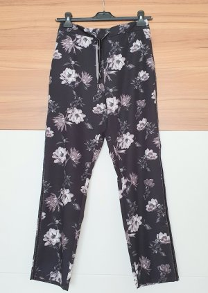 BAF Pantalon en jersey blanc-gris violet