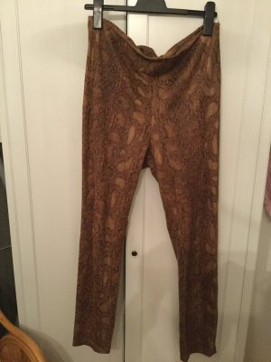 Vila Clothes Leather Trousers multicolored