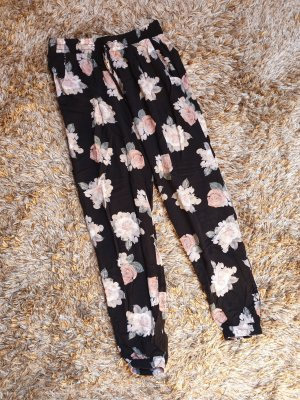 Pantalone alla turca bianco-nero