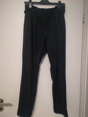 BAF Spodnie materiałowe biały-ciemnoniebieski