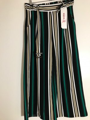 New Collection italy Culottes multicolored polyester